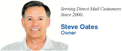 Steve Oates Direct Mail